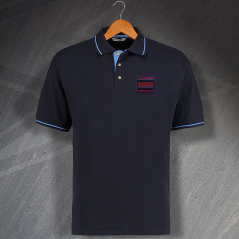 Royal Engineers Tactical Recognition Flash Embroidered Polo Shirt