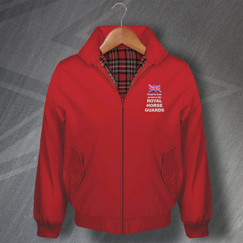 The Royal Horse Guards Harrington Jacket