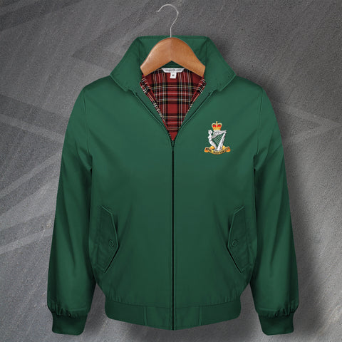 Royal Irish Rangers Harrington Jacket Embroidered