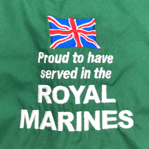 Royal Marines Embroidered Badge
