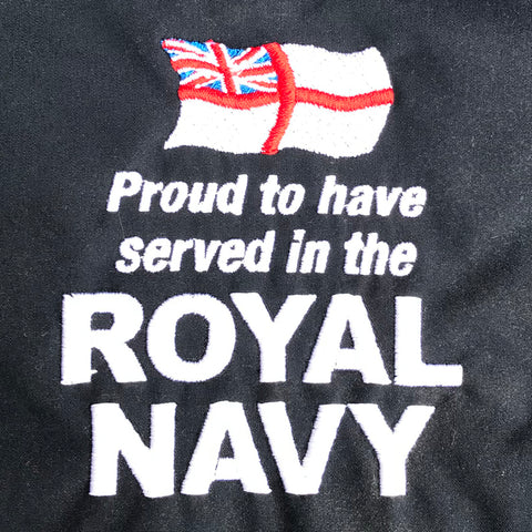 Royal Navy Embroidered Badge