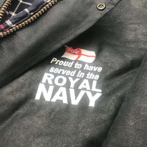 Royal Navy Wax Jacket