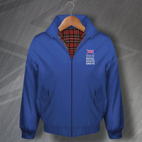Royal Scots Greys Harrington Jacket