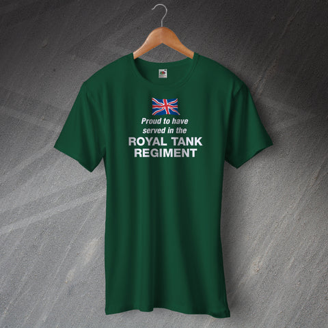 Proud to Have Served In The Royal Tank Regiment T-Shirt