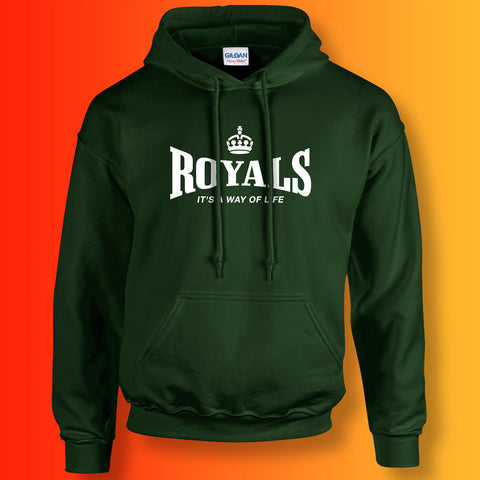 The Royals Hoodie with It's a Way of Life Design