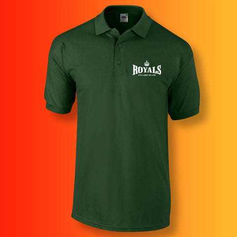 The Royals Polo Shirt with It's a Way of Life Design