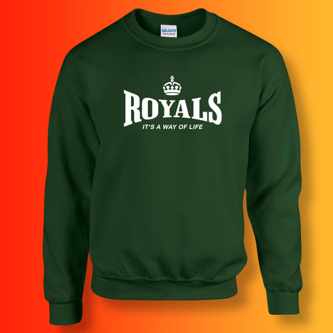 The Royals Sweater with It's a Way of Life Design