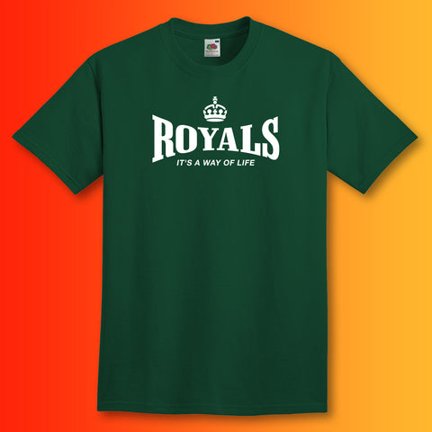 The Royals T-Shirt with It's a Way of Life Design
