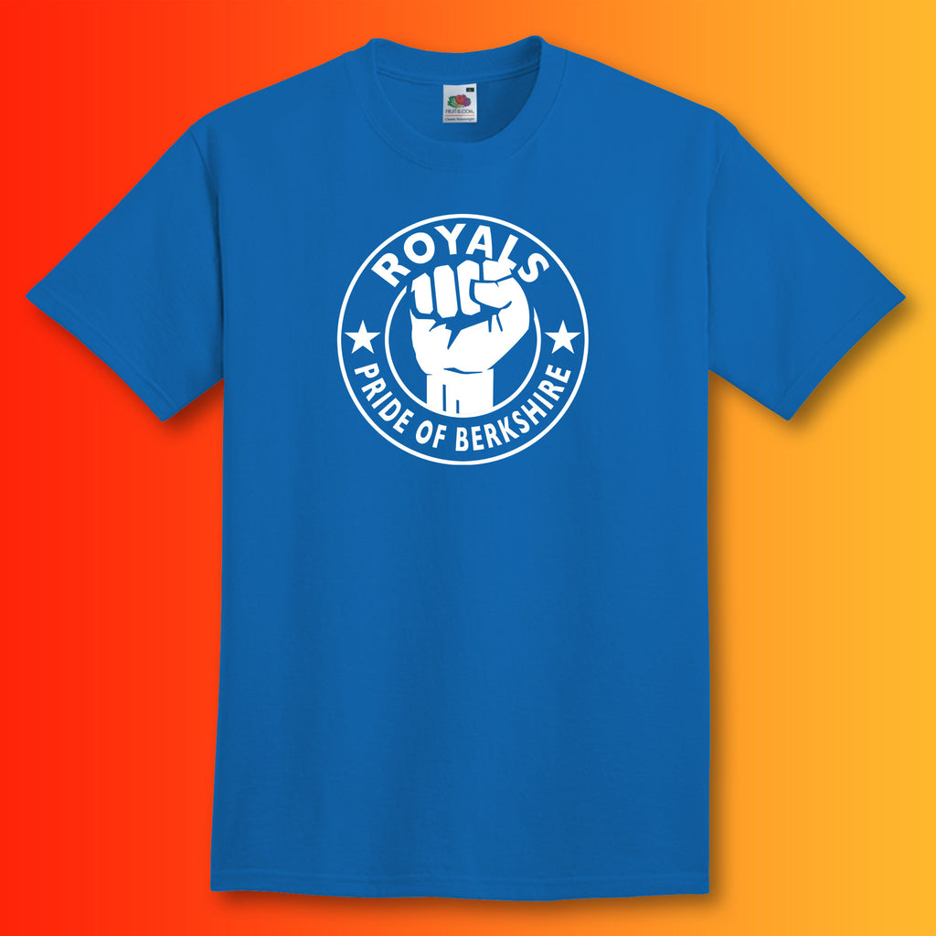 Royals Shirt with The Pride of Berkshire Design Blue