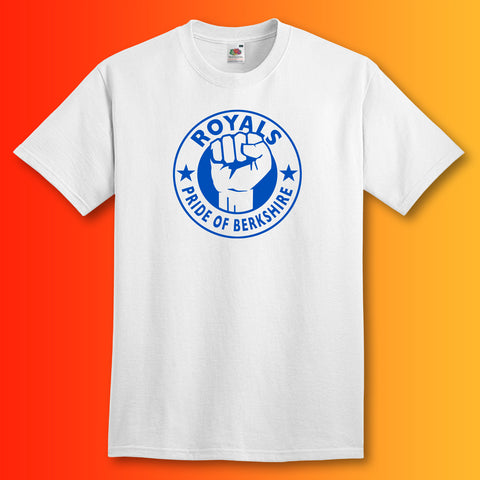 Royals Shirt with The Pride of Berkshire Design White