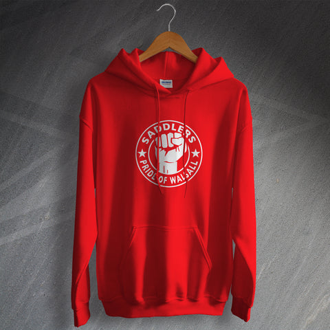 Walsall Football Hoodie Saddlers Pride of Walsall