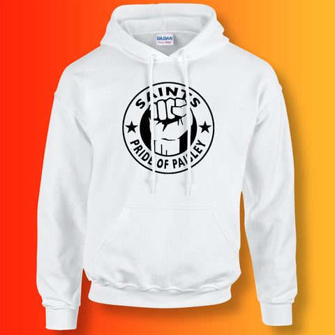 Saints Hoodie with The Pride of Paisley Design