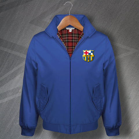 Shrewsbury Football Harrington Jacket Embroidered Barcelona