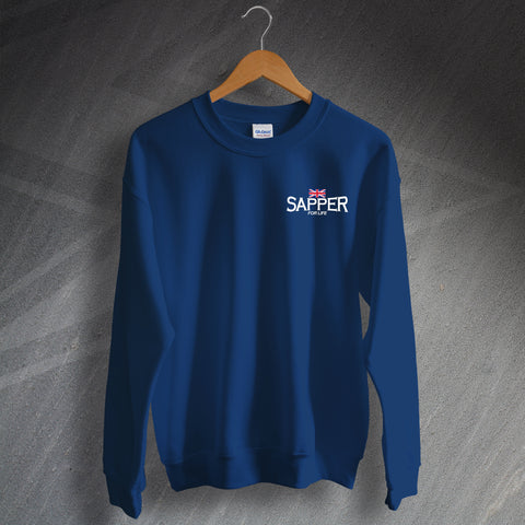 Sapper for Life Embroidered Sweatshirt