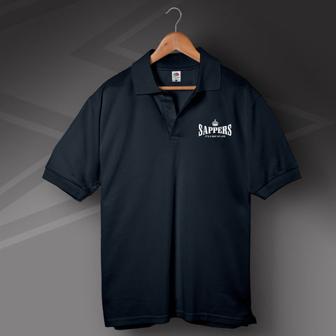 Sappers It's a Way of Life Polo Shirt