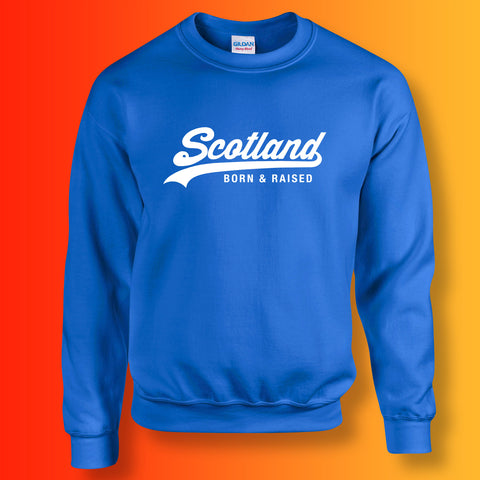 Scotland Born and Raised Unisex Sweater