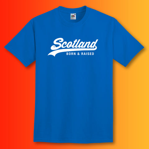 Scotland Born and Raised Unisex T-Shirt