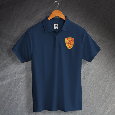 Scotland Football Polo Shirt Embroidered 1879