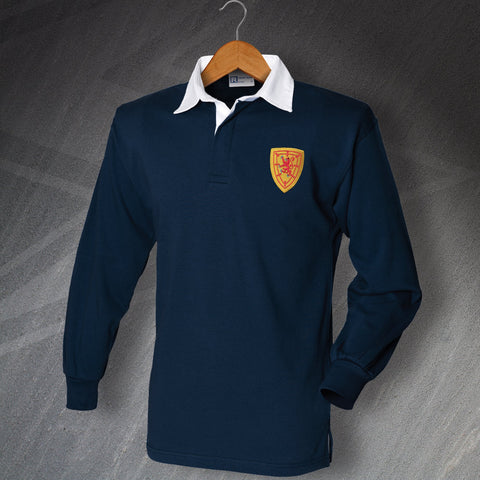 Scotland Football Shirt Embroidered Long Sleeve 1879