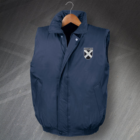 Scotland Padded Gilet with Embroidered Badge
