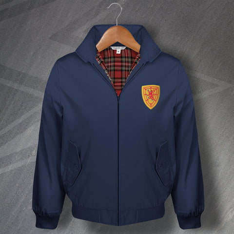 Scotland Football Harrington Jacket Embroidered 1879