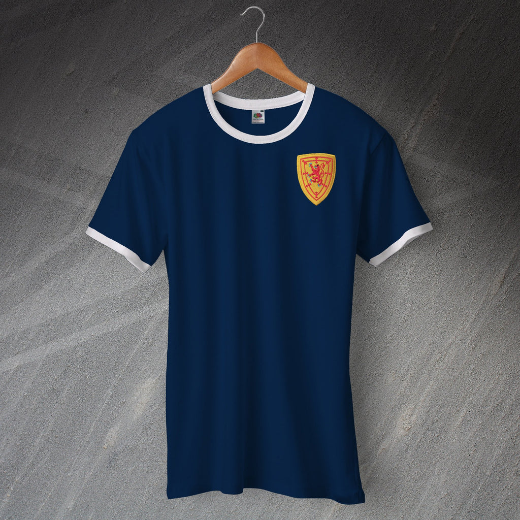 Scotland Football Ringer Shirt