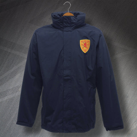 Scotland Football Jacket Embroidered Waterproof 1879