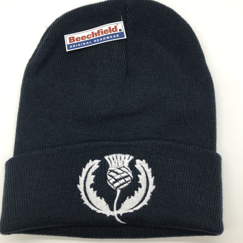 Scotland Rugby Beanie Hat Embroidered 1925