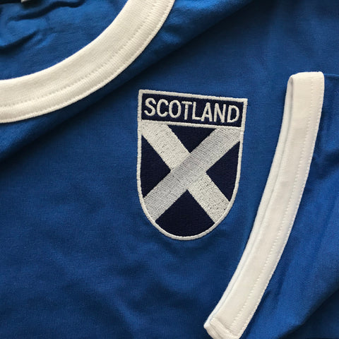 Scotland Embroidered Badge