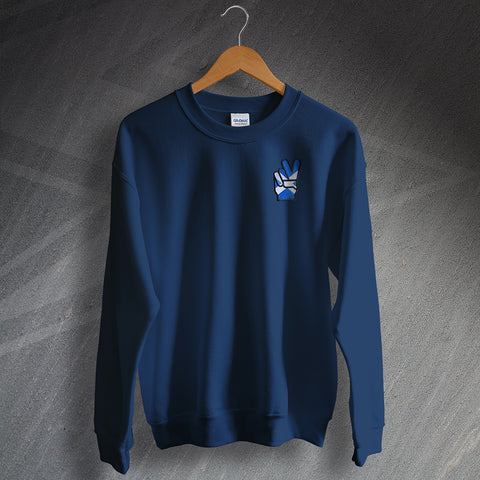 Scotland Sweatshirt Embroidered Victory