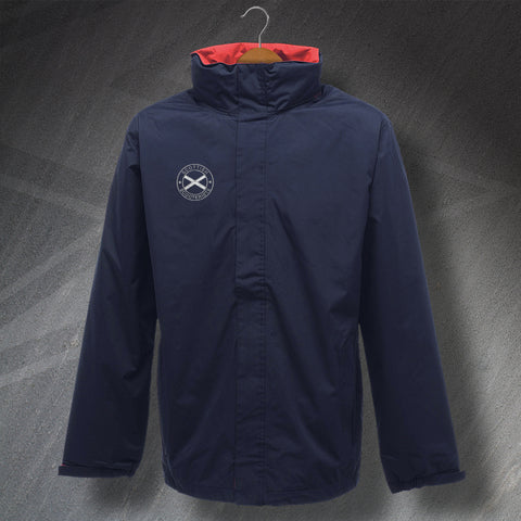 Scottish Scooterists Embroidered Waterproof Jacket