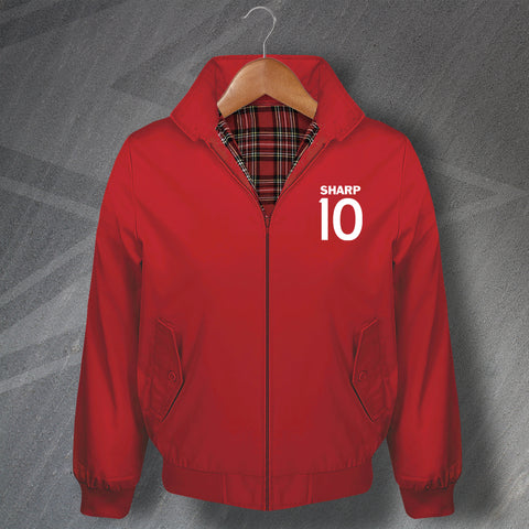 Sharp 10 Embroidered Classic Harrington Jacket