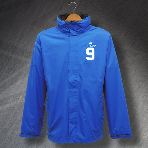Oldham Football Jacket Embroidered Waterproof Sharp 9