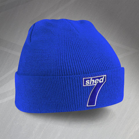 Shed7 Beanie Hat Embroidered