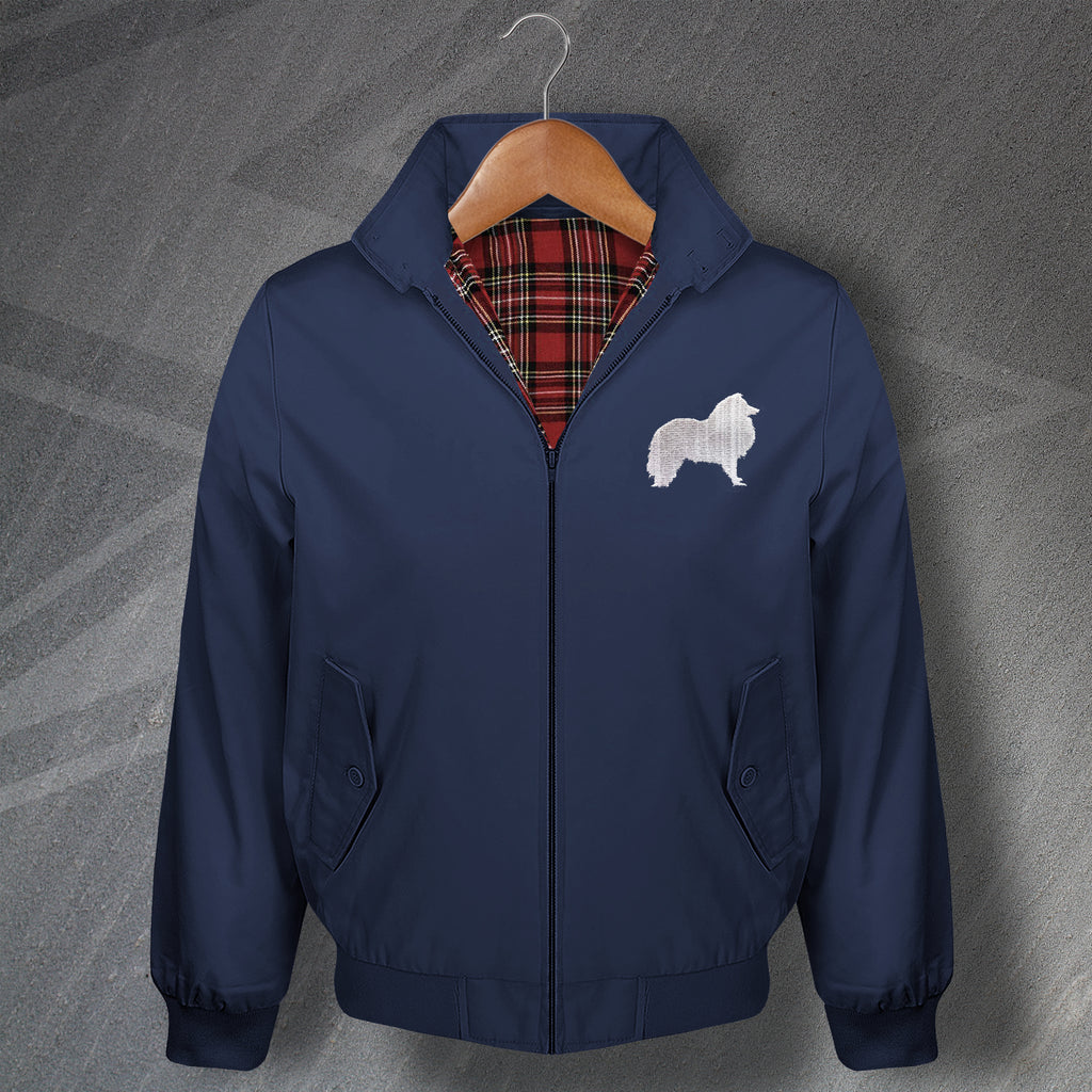 Shetland Sheepdog Harrington Jacket
