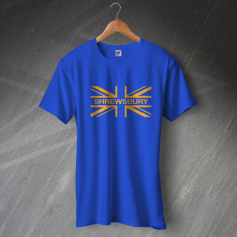 Shrewsbury Football T-Shirt Union Jack