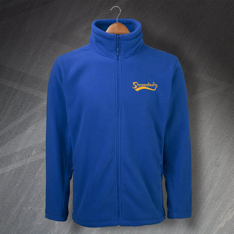 Shrewsbury Football Fleece Embroidered