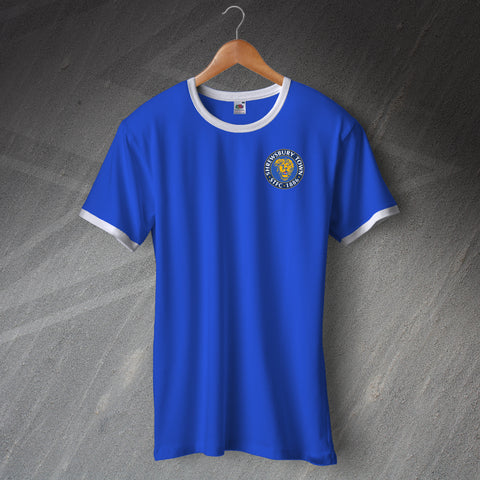 Shrewsbury Football Shirt Embroidered Ringer 2008