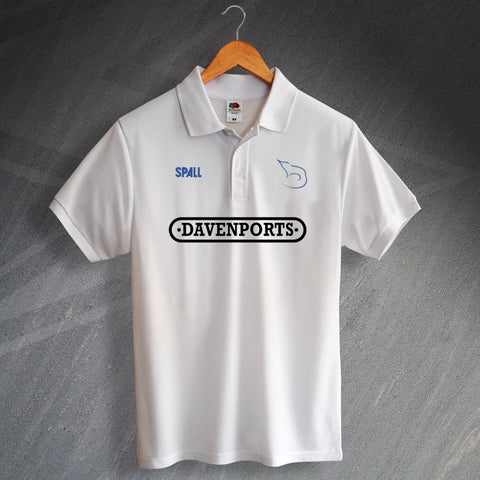Shrewsbury Football Polo Shirt Printed 1989