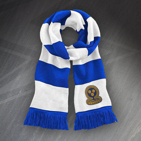 Shrewsbury Football Bar Scarf Embroidered 1980