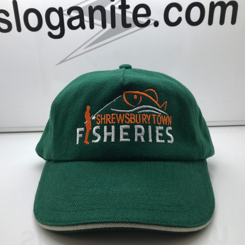 Shrewsbury Town Fisheries Baseball Cap Embroidered