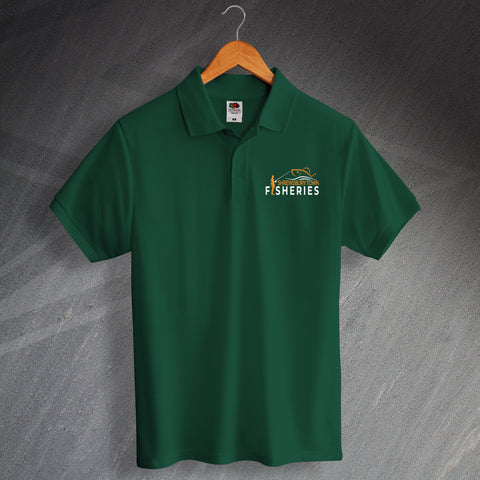 Shrewsbury Town Fisheries Polo Shirt Embroidered
