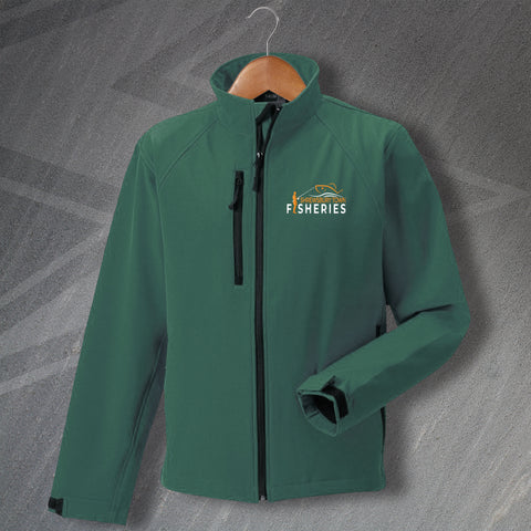 Shrewsbury Town Fisheries Jacket Embroidered Softshell