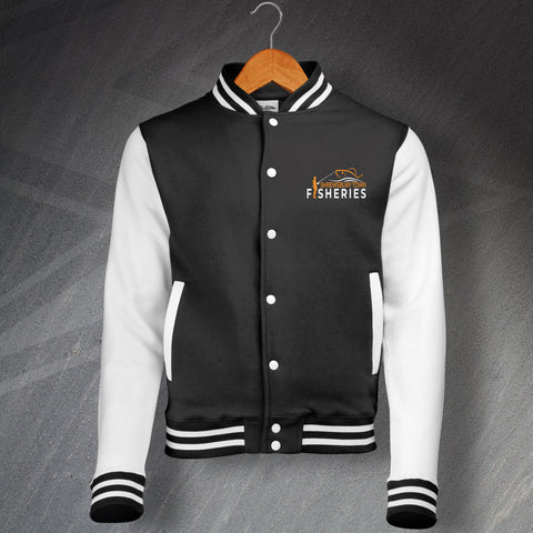Shrewsbury Town Fisheries Varsity Jacket Embroidered