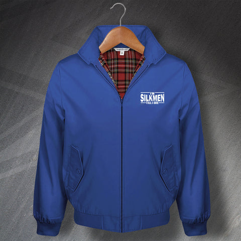 I'm Silkmen Till I Die Embroidered Harrington Jacket