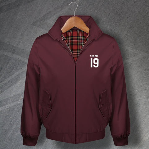 Skácel 19 Embroidered Classic Harrington Jacket