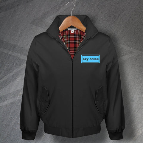 Sky Blues Harrington Jacket