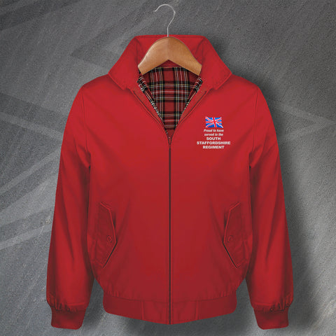 South Staffordshire Regiment Harrington Jacket