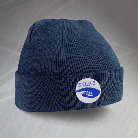 Southend Football Beanie Hat Embroidered 1975