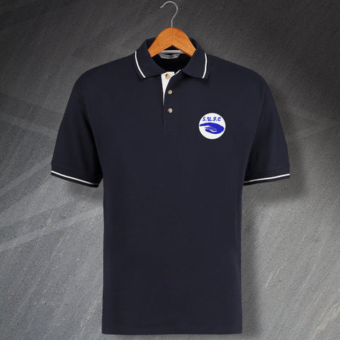 Southend Football Polo Shirt Embroidered 1975